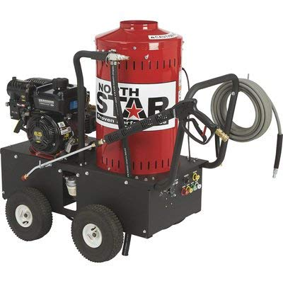 NorthStar Gas Wet Steam and Hot Water Portable Pressure...