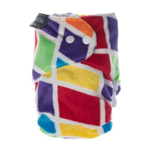 Itti Bitti-Copri pannolino D'lish All in One, misura grande, colore: multicolore