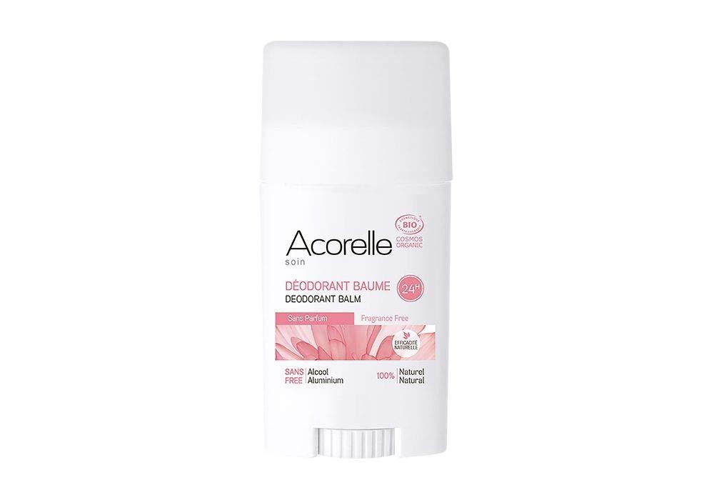 Acorelle Organic Fragrance Free Deodorant half New sales