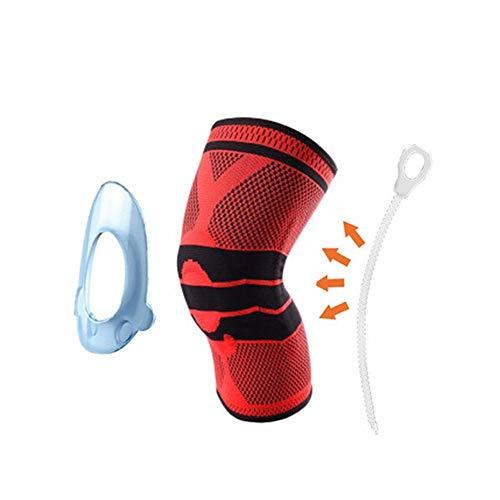 SASCD 1 PCS Silicona Acolchados Rodilleras Apoyos Brace Baloncesto de la Aptitud de menisco Patella Rodillas Protección Seguridad en los Deportes de la Rodilla de la Manga