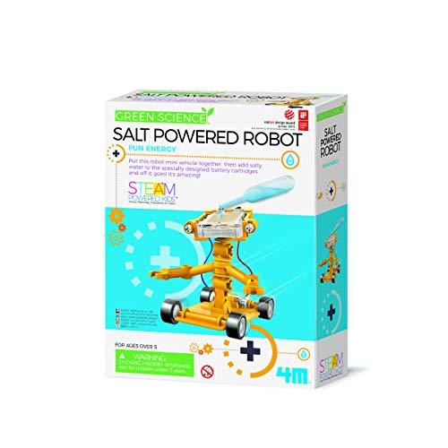 4m Green Science Salz Wasser Power Roboter