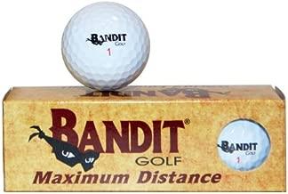 Bandit Non Conforming Illegal Maximum Distance Golf Balls 3 Count Sleeve