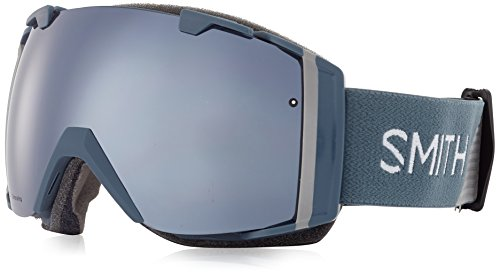 SMITH I/O – Gafas de esquí, Otoño-Invierno, Unisex, Color Thunder...