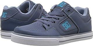 DC Pure Elastic Skate Shoe Blue 4 M US Big Kid [並行輸入品]