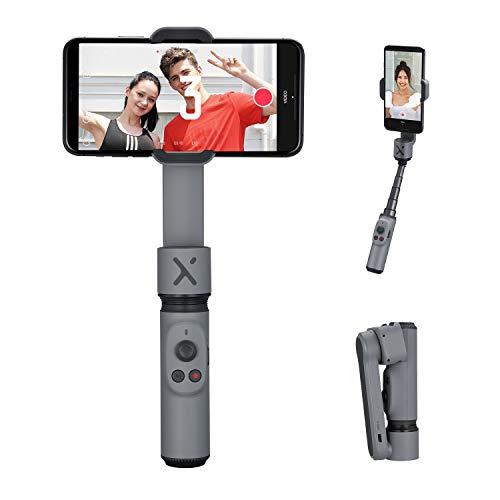 ZHIYUN Smooth-X Estabilizador de cardán para teléfono Inteligente Plegable Selfie Stick Vlog Youtuber (Gris)