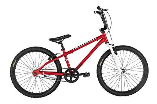 Alpina Bike BMX, Bicicletta Ragazzo, Rosso, 24'