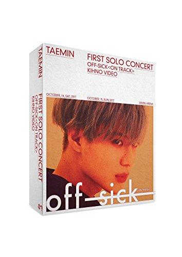 SM Entertainment Taemin 1ST Solo Concert Off-Sick on Track Kihno Video Kit+Kihno...