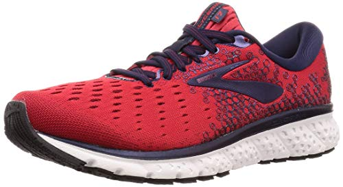 Brooks Glycerin 17, Men's Running Shoes, Red (Red / Biking Red / Peacoat 683), 45.5 EU
