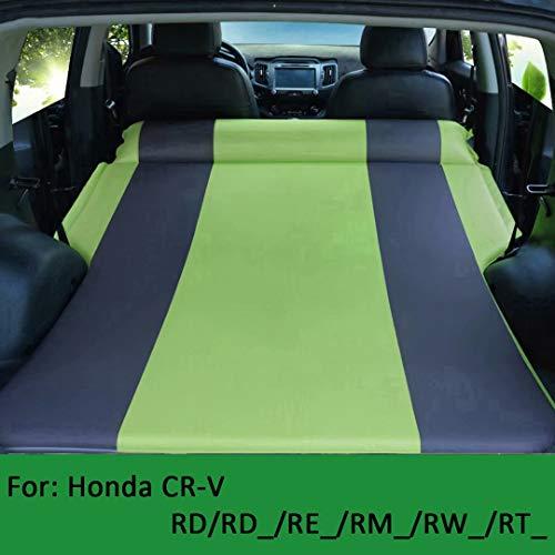 QCCQC Geeignet für automatisch aufblasbares Honda CR-V Auto. Aufklappbares Kofferraum-Luftkissenbett RD / RD_ / RE_ / RM_ / RW_ / RT_ Luftmatratze, Grün + Grau, T1