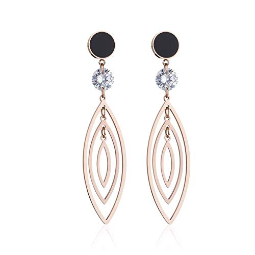 huanghuacai 925 Silver Back-Shaped Simple Asymmetric Earrings, Exaggerated Design, Stylish and Full of Personality!