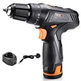 <span class='highlight'><span class='highlight'>TACKLIFE</span></span> Cordless Drill 12V,19 1Clutch,Variable Speed,Electric Screwdriver with 2.0Ah Lithium Battery Pack, PCD02C