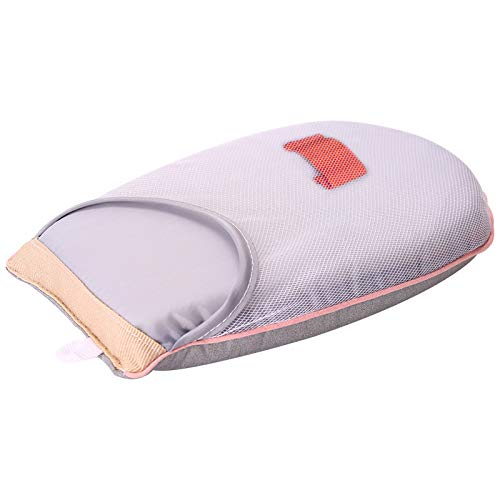 LKHF Funda para Almohadilla de Planchado Manual Funda para Almohadilla de Planchar, Tabla de Planchar Gris, Soporte para Tabla Guante Resistente al Calor para Ropa