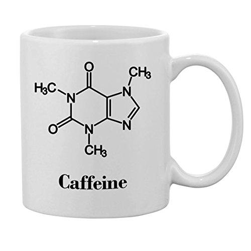 Fórmula química con texto en, diseño de Science gafas con taza