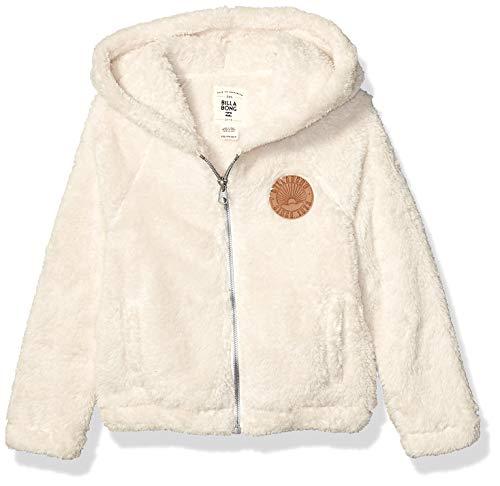 BILLABONG Mädchen Snow Day 2 Hoodie Kapuzenpulli, weiße Kappe, Mittel