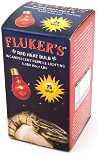 Fluker's 22800 Red Heat Bulbs for Reptiles, 40-watt