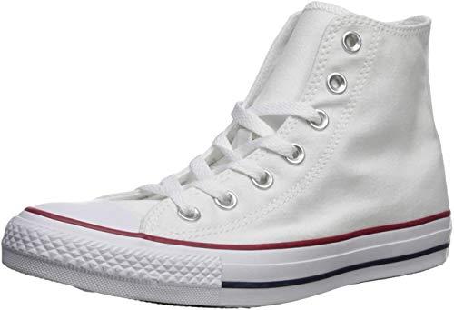 Converse Sneaker All Star Hi Canvas, Sneakers Unisex Adulto, Bianco (Optical White), 49 EU