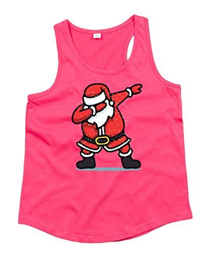Camiseta de tirantes de Papá Noel, bailarinas, dibujos animados, unisex, para niños...
