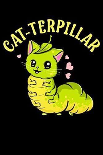 Cat-terpillar: Cat-terpillar Adorable Half Cat Half Caterpillar Themed Blank Notebook - Perfect Lined Composition Notebook For Journaling, Writing & Brainstorming (120 Pages, 6