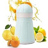 Exprimidor Mano con Filtro Compacto for Manual Anaranjado del limón Exprimidor de Pomelo o Home Bar Cocina Portátil (Color : Random Color, Size : 18.2X11CM)