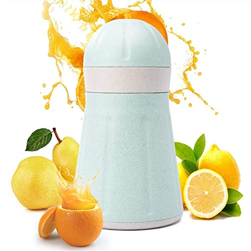 Wuxingqing Exprimidor de Mano Home Bar Cocina Exprimidor Mano con Filtro Compacto for Limón Naranja Pomelo Manual Exprimidor Solo Segundos para el Exprimidor de Jugo de Cítric