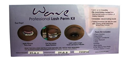 BioTouch Wave Professional Eye Lash Perm Kit eye lash perm curling lash roller curlers eyelash perming supplies