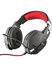 Trust Gaming Casque Gamer GXT 322 Carus Casque Micro pour Consoles et PC, Filaire, Jack 3.5mm, Câble 1m, Microphone Flexible pour Ordinateur, PS4, PS5, Xbox Series X, Xbox One, Nintendo Switch, Noir
