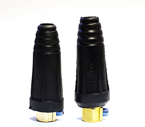 Lincoln Electric KH554 Cable Connector Set, For #4 - #1 Cable (Pack of 1)
