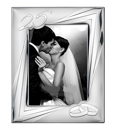 Docolastra - Cornice portafoto, per nozze d'argento (25° anniversario)