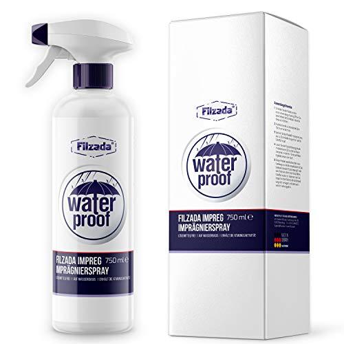 Filzada ® Imprägnierspray Textil, Leder, Schuhe (Sneaker) - Nano Waterproof Spray - Stark Wasserabweisende Imprägnierung