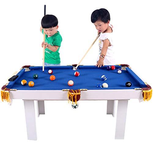 TFACR Mini Mesa de Billar de Madera - Mesa de Billar para niños/Adultos con 16 Bolas y Otros Accesorios, Juguete de Mesa de Billar