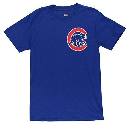 MLB T-Shirt Chicago Cubs Anthony Rizzo #44 Jersey Trikot Baseball (S)