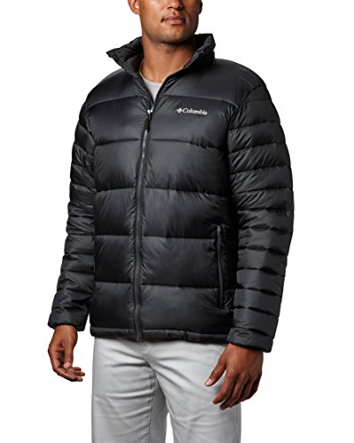 Columbia Men's Frost-Fighter Puffer Jacket, Black, Large