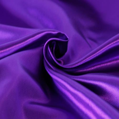 Solid Satin Fabric - Purple - 60' Width - Sold BTY