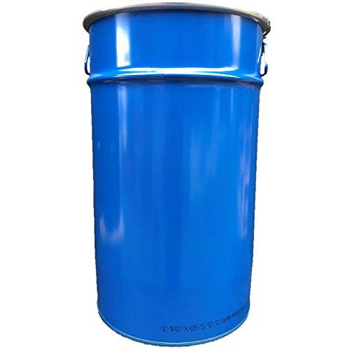 60 Liter Hobbock/Deckelfass Fass Garagenfass Ölfass NEU Blau