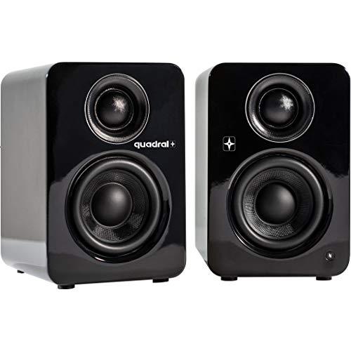 Quadral Bluetooth Lautsprecher Breeze Blue L schwarz