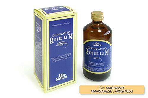 Alta Natura Depurativo Rheum Integratore Alimentare 250 ml