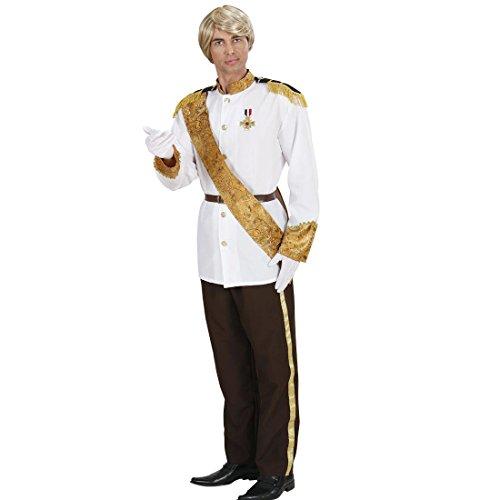 Amakando Prinzenkostüm Märchenprinz Faschingskostüm L 52 Prinzen Märchenkostüm Prinz Kostüm Karnevalskostüme Herren König Prinzkostüm Märchen Königskostüm