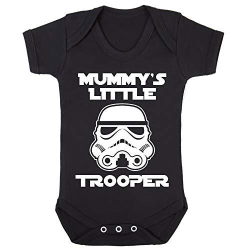 Original Stormtrooper Mummy'S Little Stormtrooper Babygrow Babysuit Short Sleeve