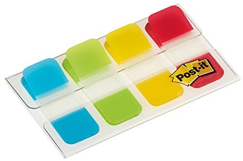 Post-it Lesezeichen Mini Starre Standardfarben - 40 Index