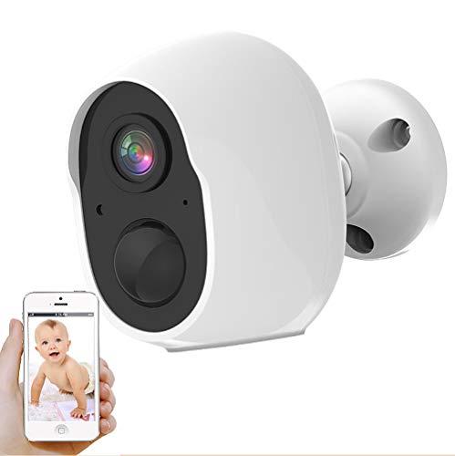 DSMGLRBGZ Vigilabebés, Vigilabebes con Camara Camara Bebes Vigilancia 1080P WiFi Cámara Interior Y Exterior Remota para Ve A La Cama Seguridad