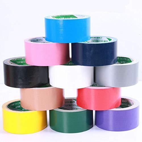 FidgetGear - Cinta Adhesiva para Alfombra, Color Opaco, Negro, 100mm X 15m