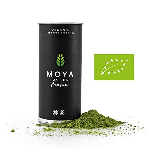 Moya Matcha Té Verde Orgánico Japonés En Polvo | 30g Prima Ceremonial...
