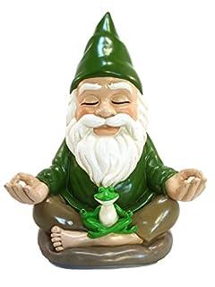 Zen Gnome Tranquility Peacefulness GlitZGlam