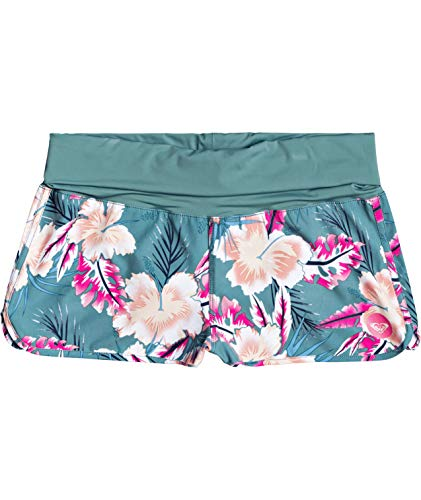 Roxy Damen Endless Summer Printed Boardshorts, The North Atlantic Heritage Haw Probe, X-Small