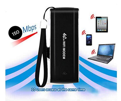 Technobe.shop 4 g LTE WiFi 150 Mbps FDD(B1, B3, B7, B8, B20) WCDMA(B1,B8) Tot 10 gebruikers kunnen toegang krijgen tot het WLAN-netwerk Win xp/win7/win8/win8.1/Linux met Mac