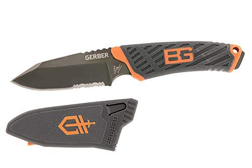 Gerber Bear Grylls Outdoor/Survival-Messer, Compact Fixed Blade Knife, Klingenlänge: 8,6 cm, Rostfreier Stahl, 31-001066