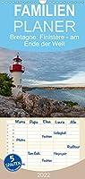 Bretagne: Finistère - am Ende der Welt - Familienplaner hoch (Wandkalender 2022 , 21 cm x 45 cm, hoch): Eine Reise durch die Suedbretagne (Monatskalender, 14 Seiten )