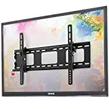 """Image of Duronic TV Bracket TVB103M   Wall Mount for 33""""-65"""" Television Screen   Tilting Action -12°/+6°   VESA Fits Up to 600x400mm   Fixing for Flat Screen LCD/LED/OLED/QLED   Strong Heavy Duty   Anti-Theft"""