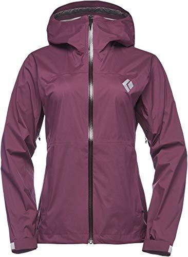 Black Diamond StormLine Stretch Rain Shell Jacket - Women's, Plum, Extra Extra APM6975002XXS1