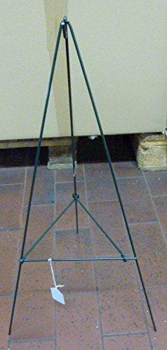Unbekannt Kranzständer ca 60 cm grün lackiert klappbar witterungsbeständig Rundstahl